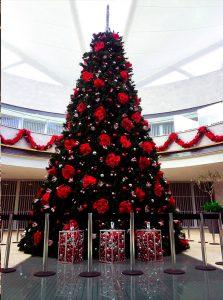 Árbol de Nochebuenas